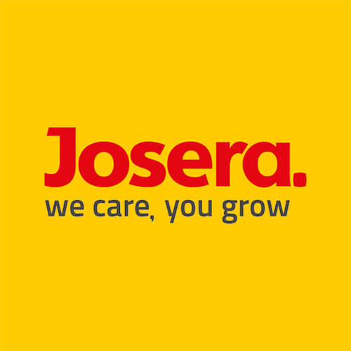 JOSERA Logo we care, you grow