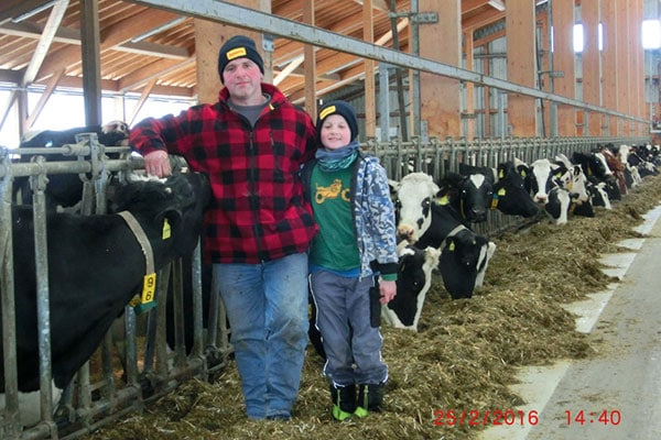 JOSERA Erfolgsgeschichten – DairyPilot – Familie Kreuzer