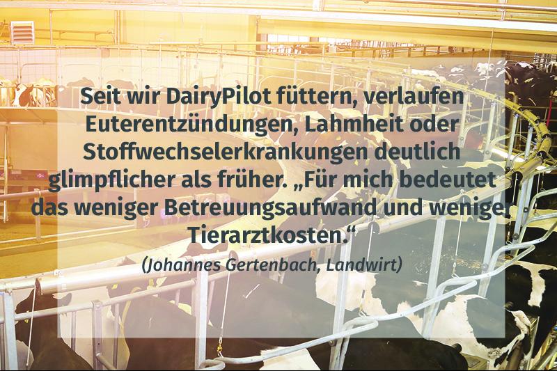 JOSERA, FarmWohl, Zitat, DairyPilot