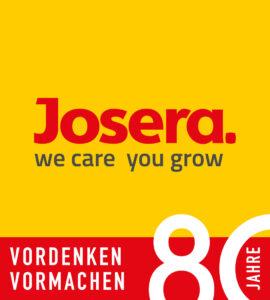 JOSERA Logo - 80 Jahre
